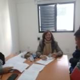La Escribana de Gobierno participó del acto de firma de escrituras públicas