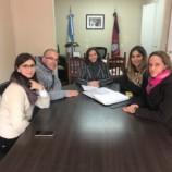 La Escribana de Gobierno se reunió con dirigentes del Foro de Intendentes