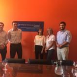 Reunión de la Escribana de Gobierno y la Unidad de Información Financiera