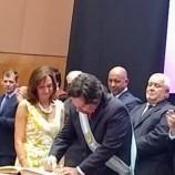 La Escribana de Gobierno certificó el juramento de los nuevos funcionarios