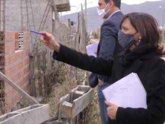 La escribana de Gobierno relevó los terrenos adjudicados que no están habitados