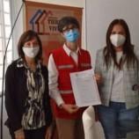 Escrituración del terreno del barrio Abdala para la Cruz Roja local