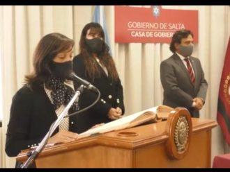 Se les tomó juramento a las nuevas funcionarias del Ministerio de Desarrollo Social