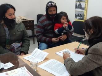 Firma de escrituras de compra venta e hipoteca de distintos barrios de la Ciudad
