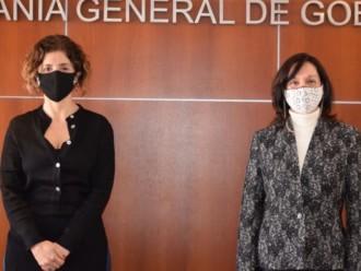 La Escribana Graciela Galíndez fue recibida por la Escribanía General de Gobierno de Buenos Aires Paula Sidoti.
