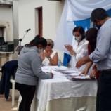 Se realizó el acto de entrega de las escrituras a los vecinos del Barrio Cornejo